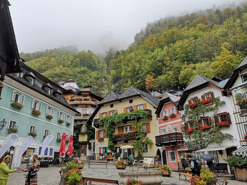 hallstatt0125 Hallstatt-世界最美小鎮 哈斯塔特 陰雨天的朦朧美感