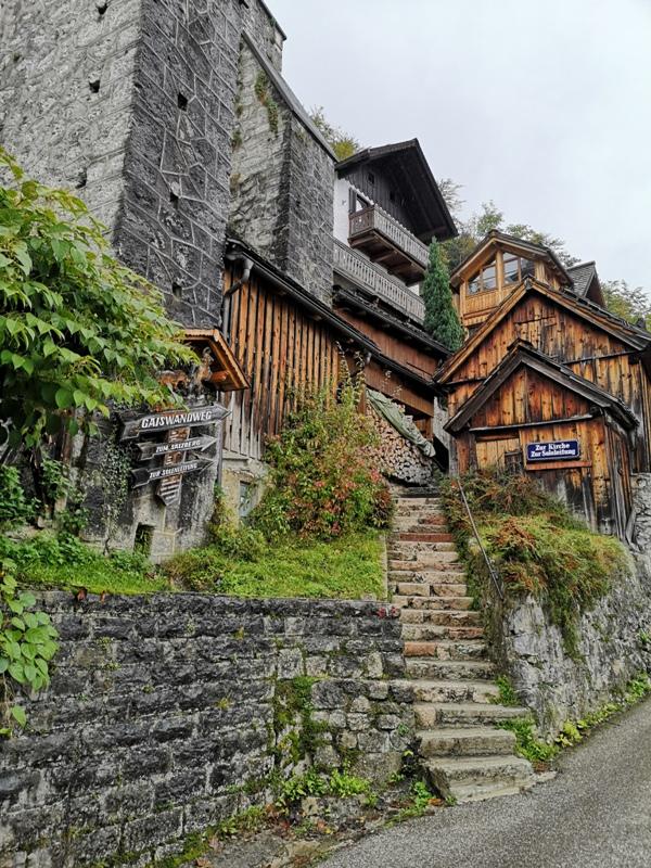 hallstatt0145 Hallstatt-世界最美小鎮 哈斯塔特 陰雨天的朦朧美感