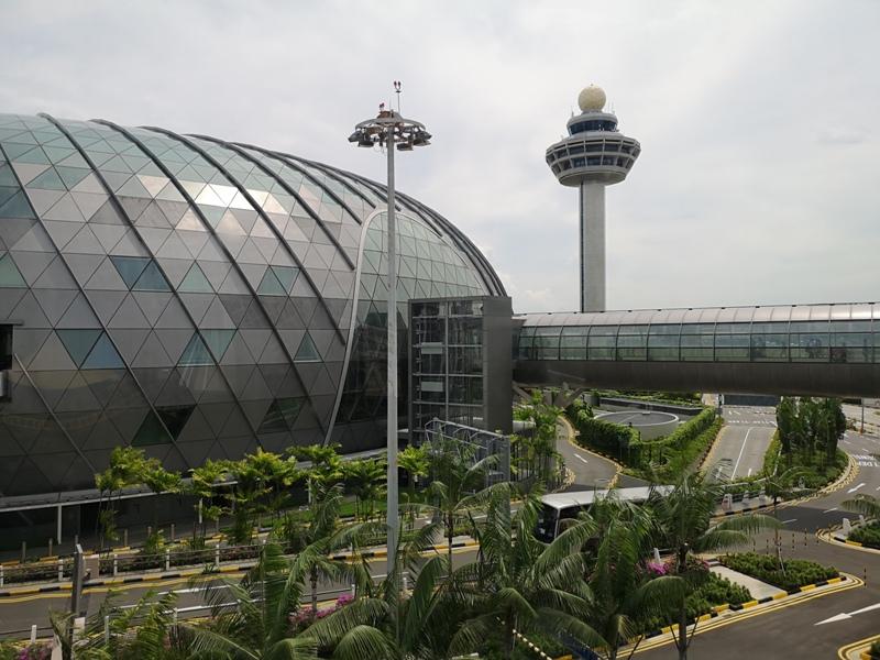 jewelchangi01 Singapore-Jewel Changi星耀樟宜 城市中的森林谷 綠意中人工瀑布雨漩渦超吸精 新加坡樟宜機場必訪