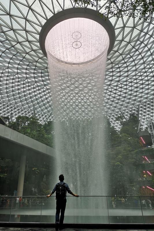 jewelchangiiii14 Singapore-Jewel Changi星耀樟宜 城市中的森林谷 綠意中人工瀑布雨漩渦超吸精 新加坡樟宜機場必訪