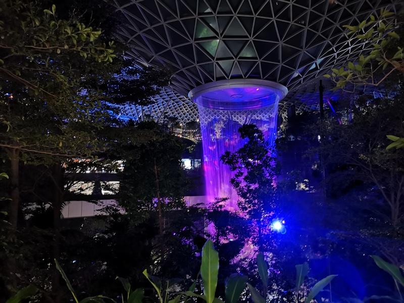 jewelchangiiii26 Singapore-Jewel Changi星耀樟宜 城市中的森林谷 綠意中人工瀑布雨漩渦超吸精 新加坡樟宜機場必訪