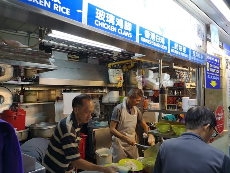 tiantian12 Singapore-地道熟食中心的海南雞飯名店 新加坡Maxwell熟食中心 天天海南雞飯
