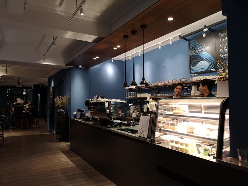 underwater03 中山-Coffee Underwater水底下的藍...優雅的灰...愜意的一杯咖啡