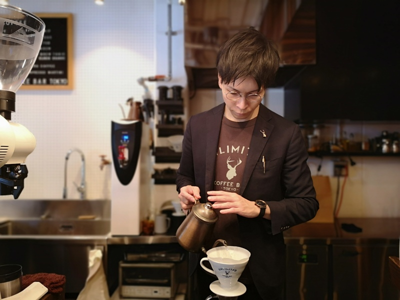unlimitedcoffee10 Sumida-Unlimited Coffee Bar晴空塔旁型男手沖BAR