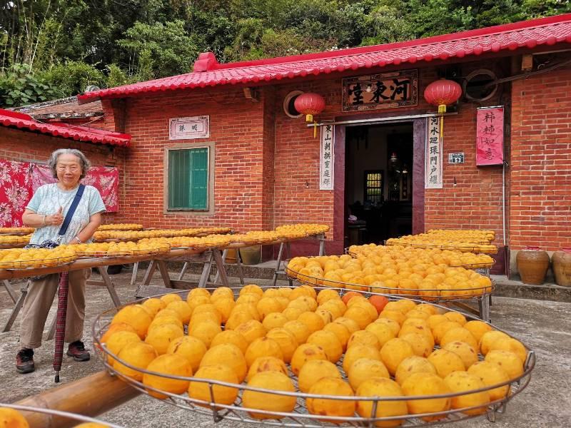 xinpu0104 新埔-味衛佳 北台灣秋天美麗的風景 好吃好玩好好拍的柿餅