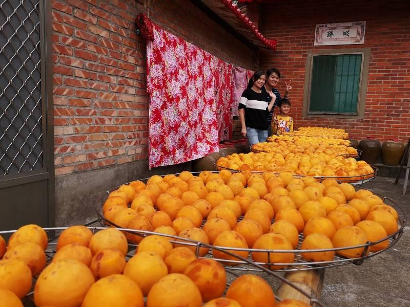 xinpu0105 新埔-味衛佳 北台灣秋天美麗的風景 好吃好玩好好拍的柿餅