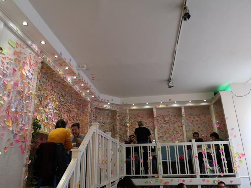 zoska04 Budapest-布達佩斯Zoska 冒著粉紅泡泡的可愛早午餐店