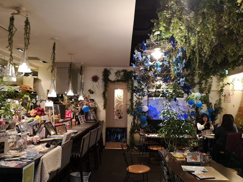 flowercafe03 Minami Aoyama-風花 南青山小巷內綠意盎然 嵐 迷哥迷姐咖啡館