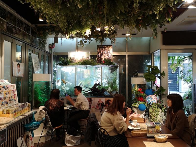 flowercafe06 Minami Aoyama-風花 南青山小巷內綠意盎然 嵐 迷哥迷姐咖啡館
