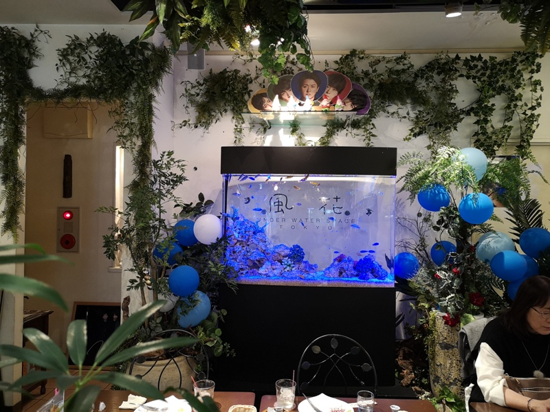 flowercafe11 Minami Aoyama-風花 南青山小巷內綠意盎然 嵐 迷哥迷姐咖啡館