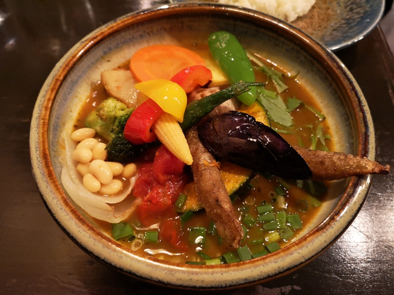 samurai10 Kagurazaka-神樂坂Rojiura Curry SAMURAI 侍 色香味俱全 香濃醇辣的湯咖哩
