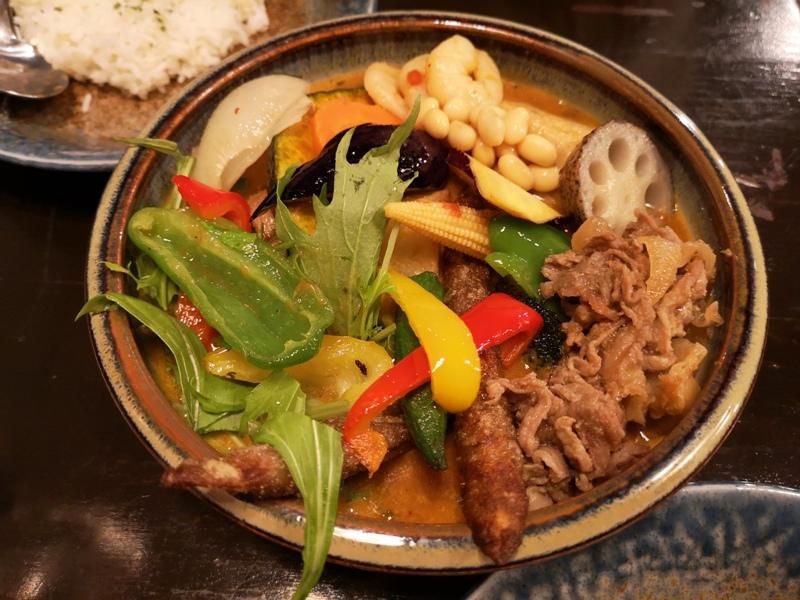 samurai11 Kagurazaka-神樂坂Rojiura Curry SAMURAI 侍 色香味俱全 香濃醇辣的湯咖哩
