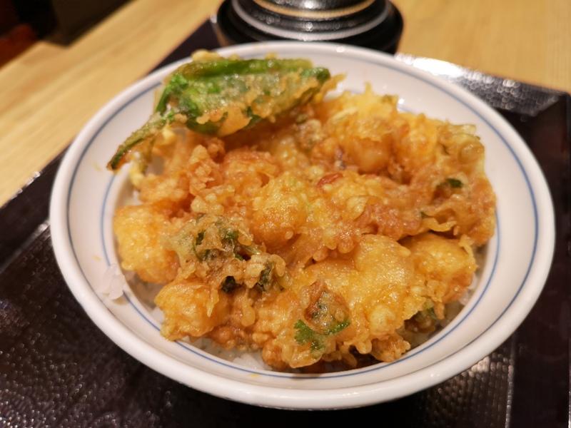 tendon8 Ginza-天丼らぁ麺ハゲ天 銀座店 不油不膩百年天丼店