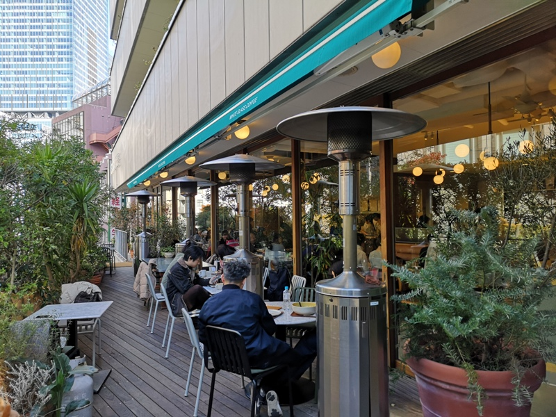 whiteglass05 Shibuya-澀谷White Glass Coffee 有著綠意庭園咖啡館悠閒舒適