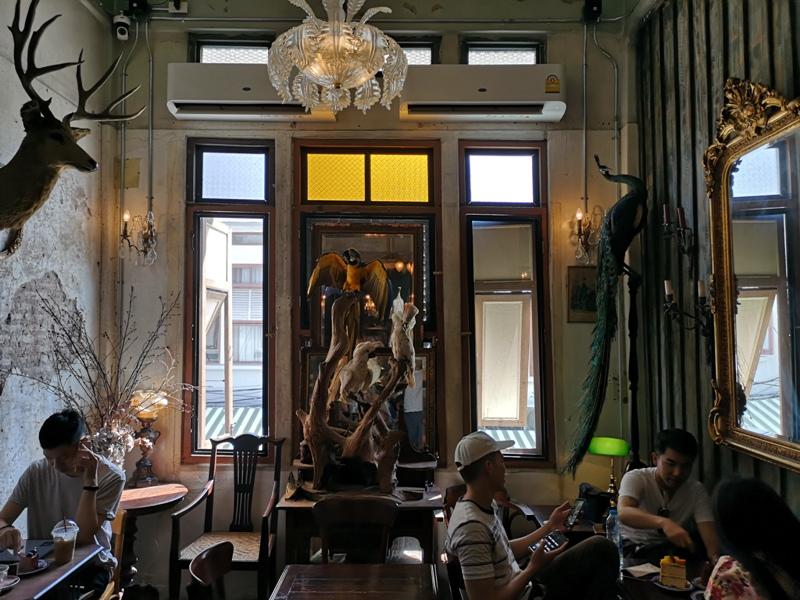Hatiencafe06 Bangkok-Ha Tien Cafe曼谷臥佛寺旁 復古華麗的咖啡館