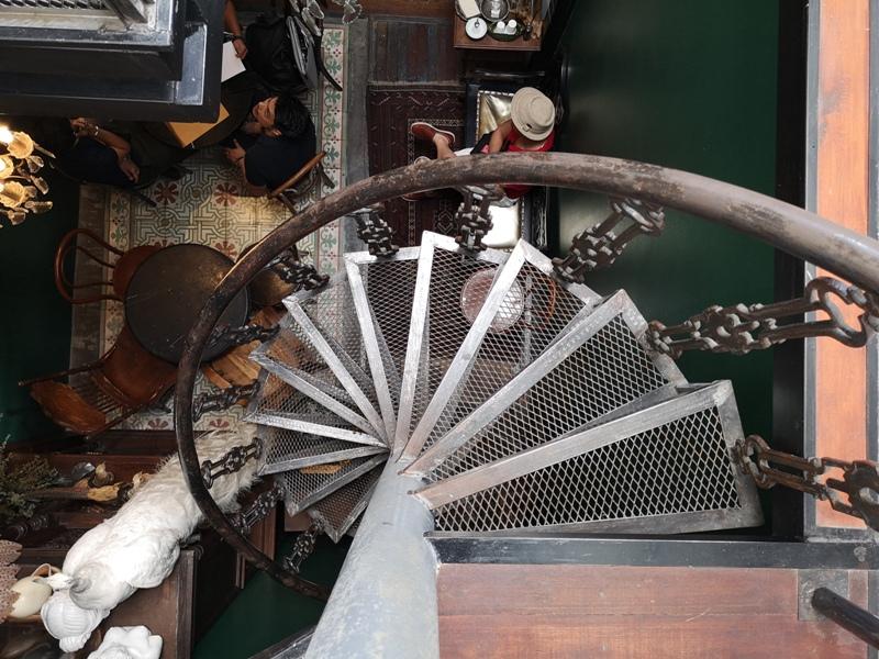 Hatiencafe16 Bangkok-Ha Tien Cafe曼谷臥佛寺旁 復古華麗的咖啡館