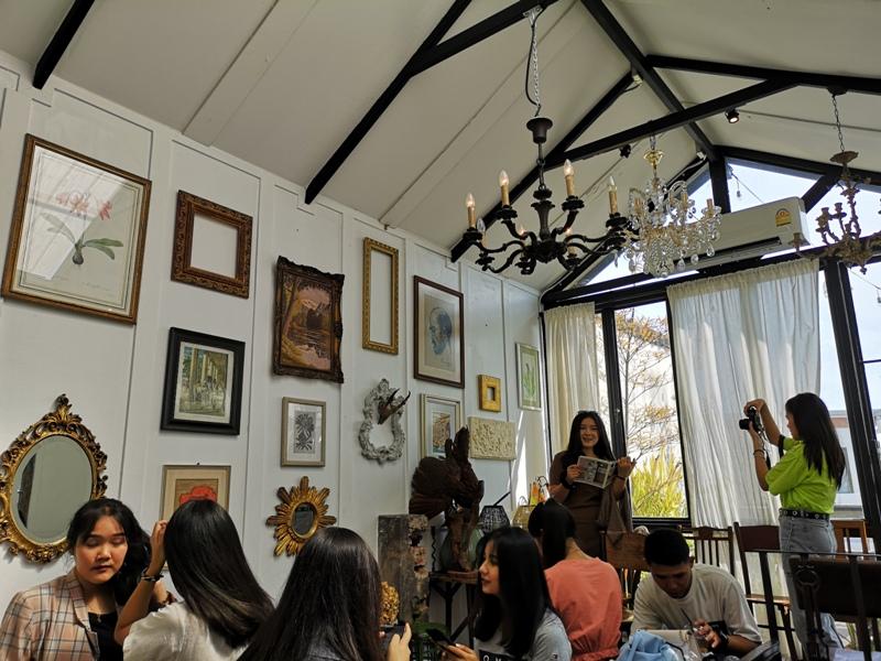 Hatiencafe17 Bangkok-Ha Tien Cafe曼谷臥佛寺旁 復古華麗的咖啡館