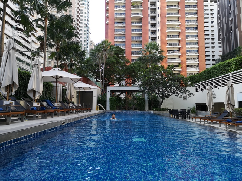 courtyardbangkok29 Bangkok-Courtyard by Marriott曼谷萬怡簡單平實交通方便