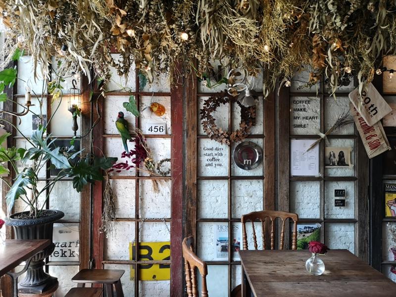 floralcafebkk170114 Bangkok-Floral Cafe at Napasorn曼谷花市旁滿滿花香古物的咖啡館