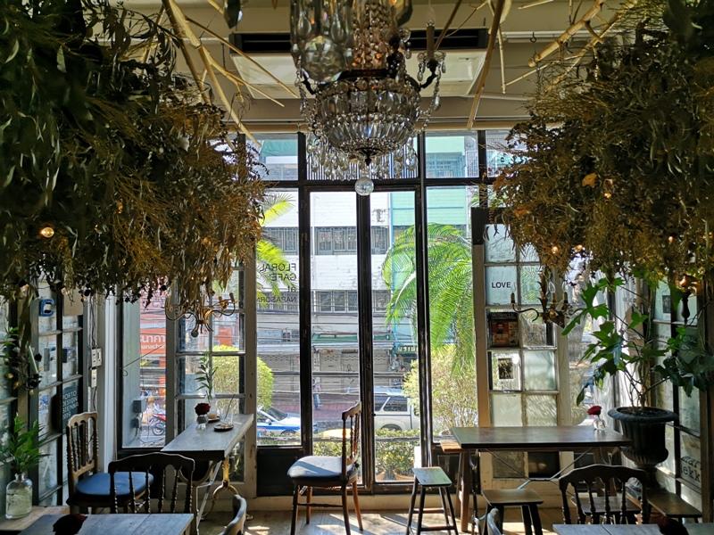 floralcafebkk170117 Bangkok-Floral Cafe at Napasorn曼谷花市旁滿滿花香古物的咖啡館