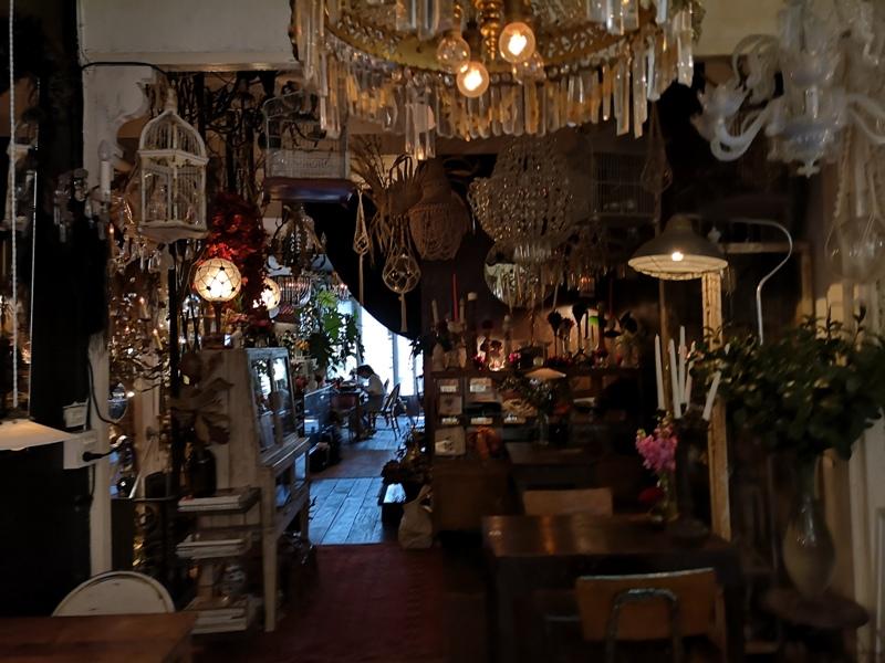 floralcafebkk170121 Bangkok-Floral Cafe at Napasorn曼谷花市旁滿滿花香古物的咖啡館