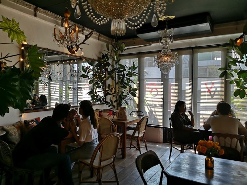 floralcafebkk170124 Bangkok-Floral Cafe at Napasorn曼谷花市旁滿滿花香古物的咖啡館