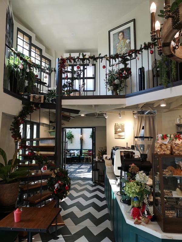 laff2803 Bangkok-曼谷LAFF Cafe室內花園 如溫室般的舒適美好