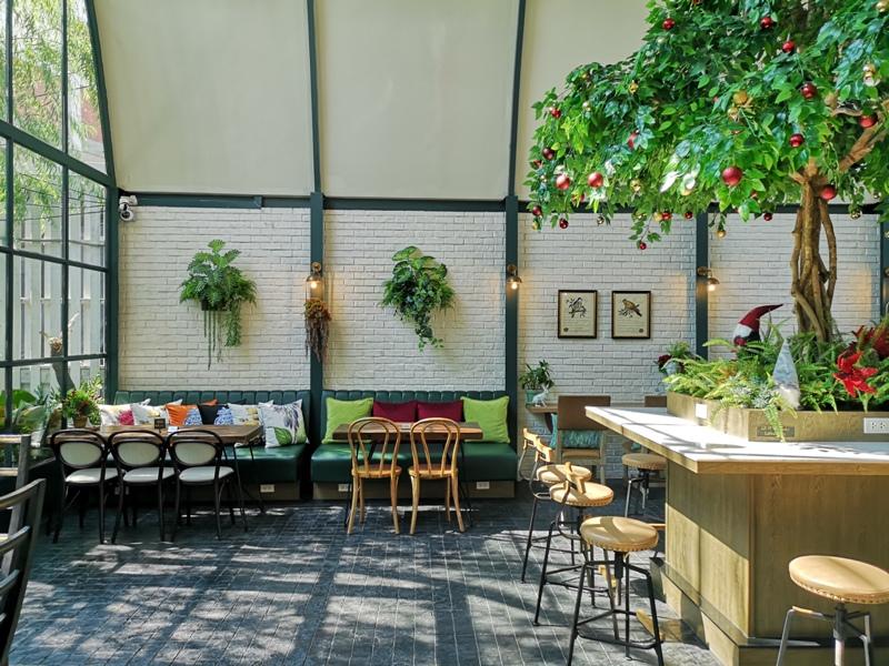 laff2807 Bangkok-曼谷LAFF Cafe室內花園 如溫室般的舒適美好