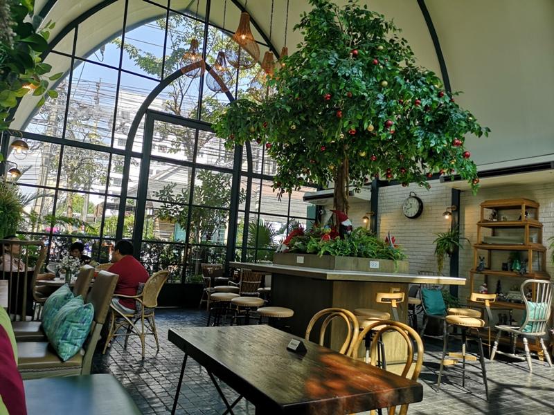 laff2809 Bangkok-曼谷LAFF Cafe室內花園 如溫室般的舒適美好