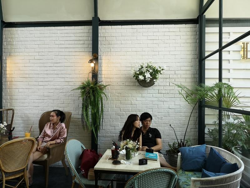 laff2820 Bangkok-曼谷LAFF Cafe室內花園 如溫室般的舒適美好