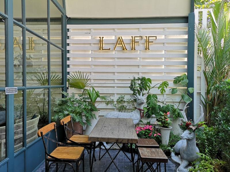laff2821 Bangkok-曼谷LAFF Cafe室內花園 如溫室般的舒適美好