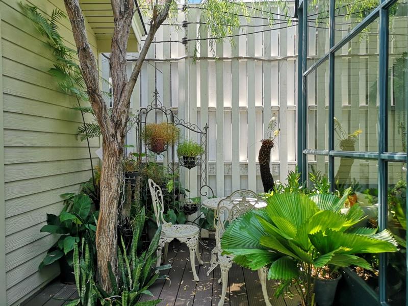 laff2823 Bangkok-曼谷LAFF Cafe室內花園 如溫室般的舒適美好