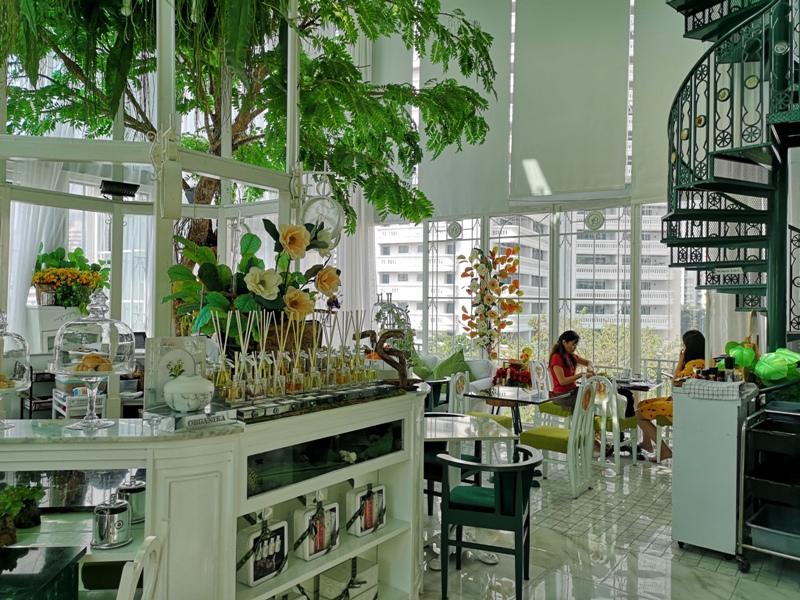 organikahouse08 Bangkok-Organika House (Spa & Cafe)純白青綠無敵浪漫 曼谷網美咖啡館