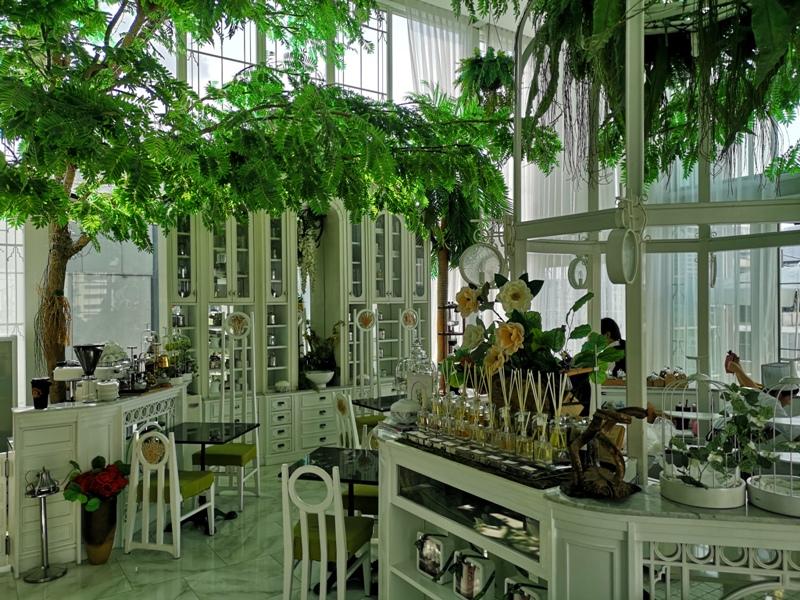 organikahouse09 Bangkok-Organika House (Spa & Cafe)純白青綠無敵浪漫 曼谷網美咖啡館