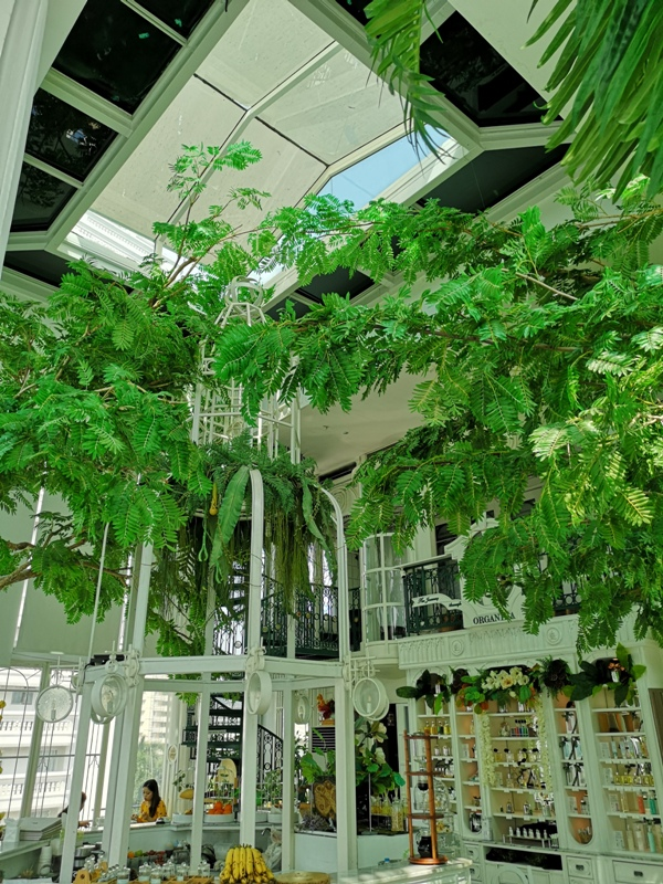 organikahouse11 Bangkok-Organika House (Spa & Cafe)純白青綠無敵浪漫 曼谷網美咖啡館