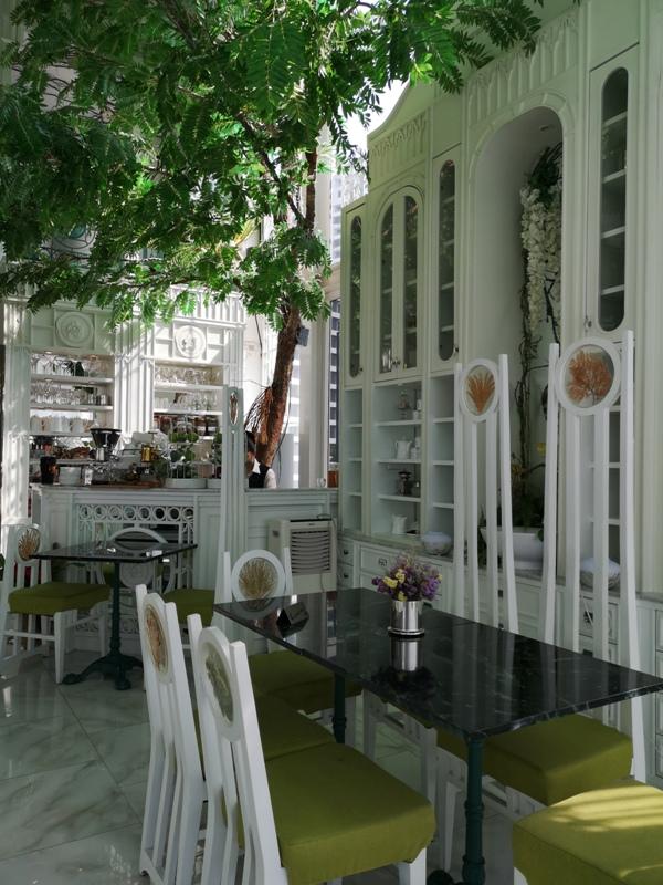 organikahouse12 Bangkok-Organika House (Spa & Cafe)純白青綠無敵浪漫 曼谷網美咖啡館