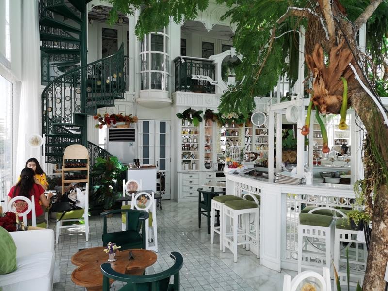 organikahouse21 Bangkok-Organika House (Spa & Cafe)純白青綠無敵浪漫 曼谷網美咖啡館