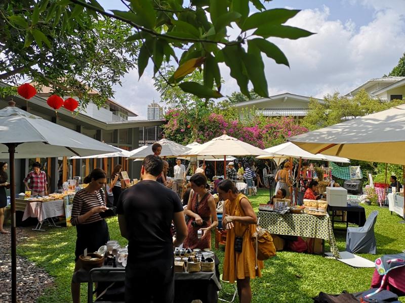 patomliving33 Bangkok-鬧區中小森林Patom Organic Living玻璃屋吸睛好拍 假日市集熱鬧好逛