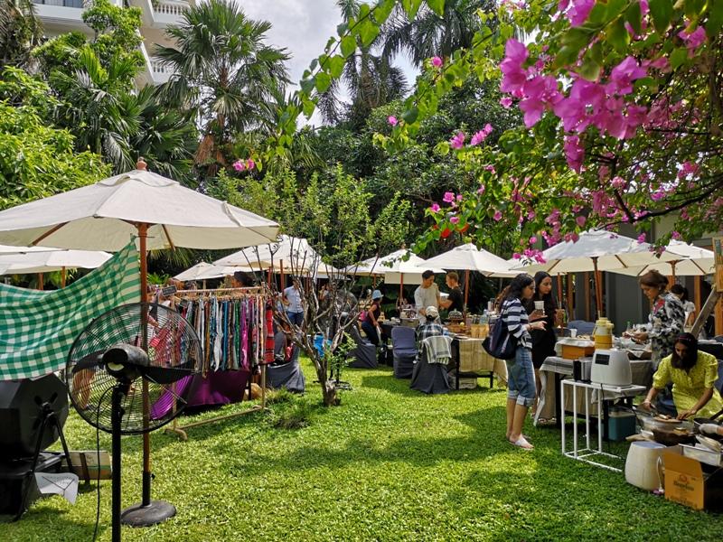 patomliving34 Bangkok-鬧區中小森林Patom Organic Living玻璃屋吸睛好拍 假日市集熱鬧好逛