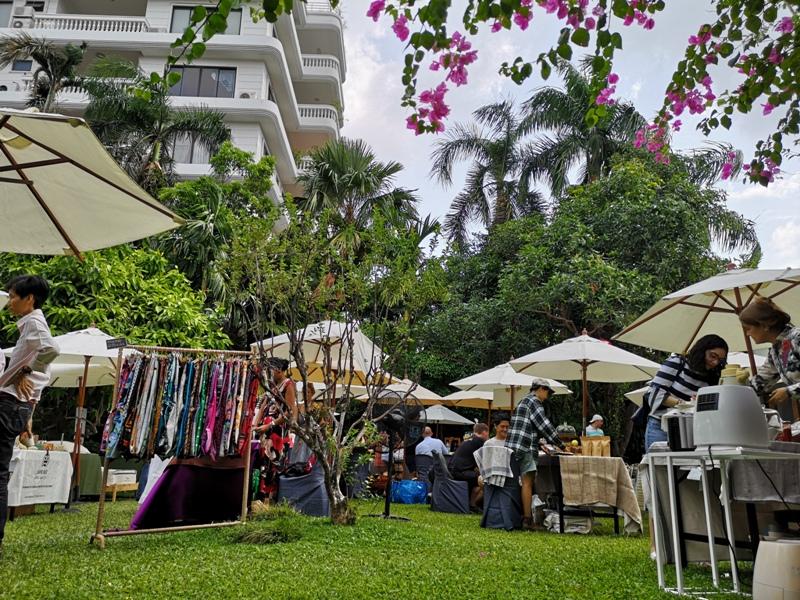 patomliving35 Bangkok-鬧區中小森林Patom Organic Living玻璃屋吸睛好拍 假日市集熱鬧好逛