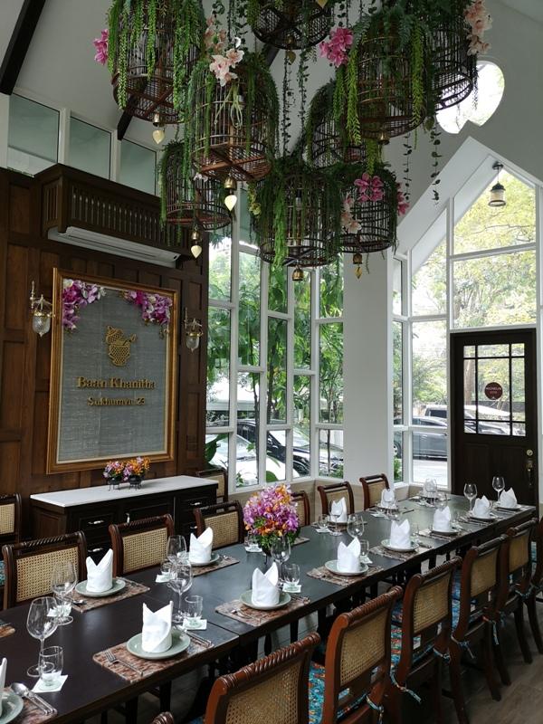 baanthai28 Bangkok-Baan Khanitha Thai Cuisine環境優雅 曼谷米其林推薦泰式美食