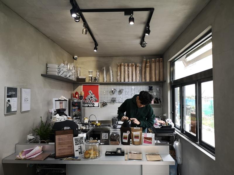 lostinzhubei09 竹北-Lost in Zhubei迷失在竹北的咖啡香氣...貨櫃屋小巧具設計感 咖啡風味迷人