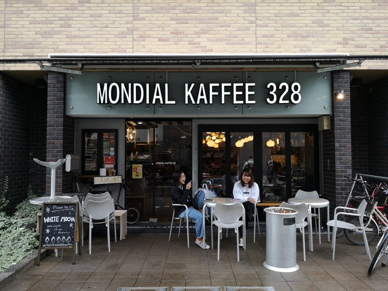 mondialcoffee01 Osaka-Mondial Kaffee大阪難波附近美式復古風咖啡館 果真冠軍的拉花啊