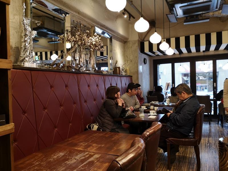 mondialcoffee08 Osaka-Mondial Kaffee大阪難波附近美式復古風咖啡館 果真冠軍的拉花啊
