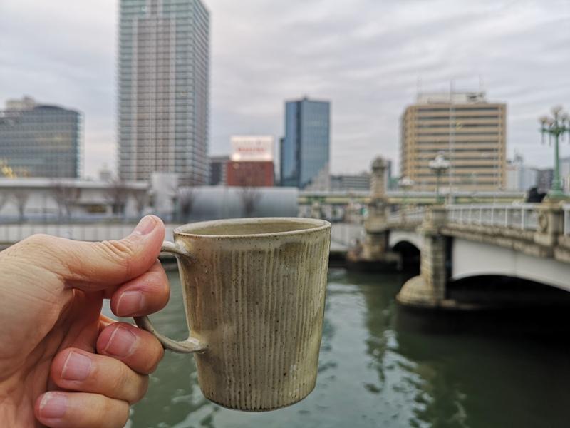 motocoffee14 Osaka-大阪Moto Coffee門前有小河 小空間大滿足的咖啡館