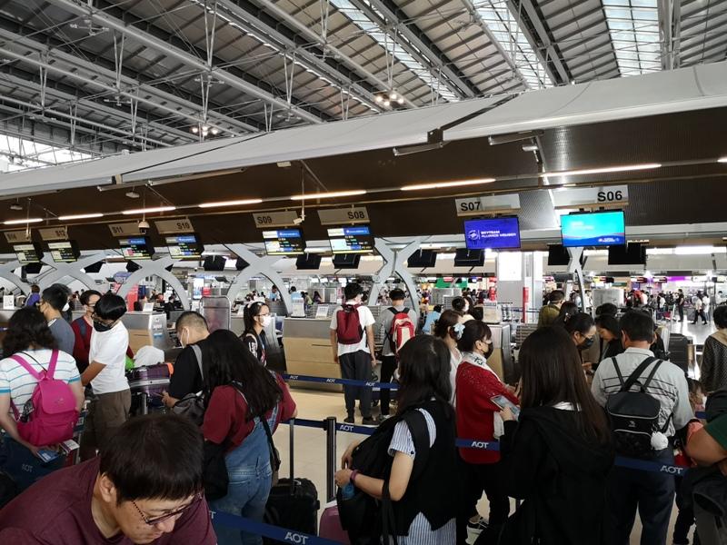 tpebkk09 202001台北曼谷一個月兩飛曼谷