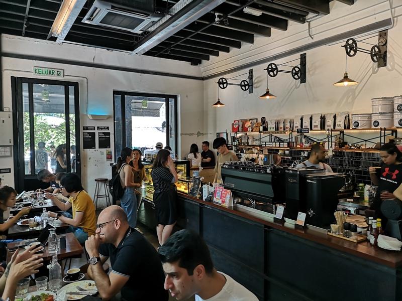 VCR08 Kuala Lumpur-吉隆坡冠軍名店VCR 果真名店咖啡好喝食物好吃