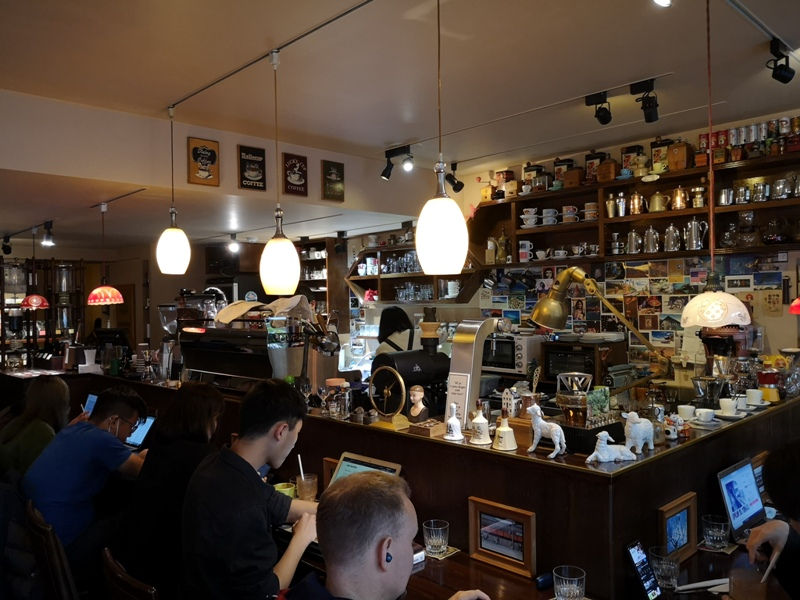 rufouscoffee06 大安-Rufous Coffee Roasters帶著神秘感有點老派的知名咖啡館