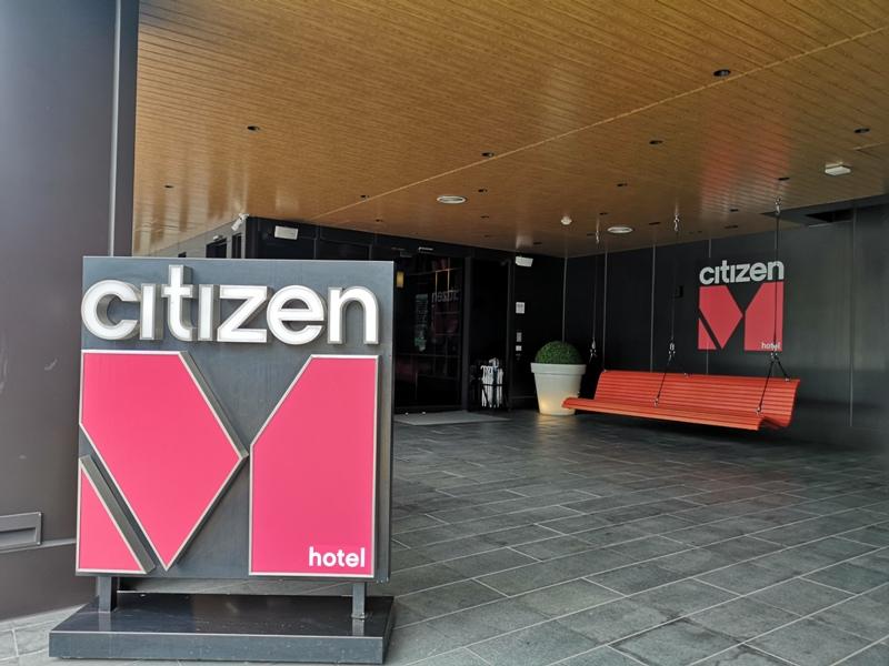 citizenMtaipei01 中正-台北北門CitizenM酒店 時尚摩登多彩又純白