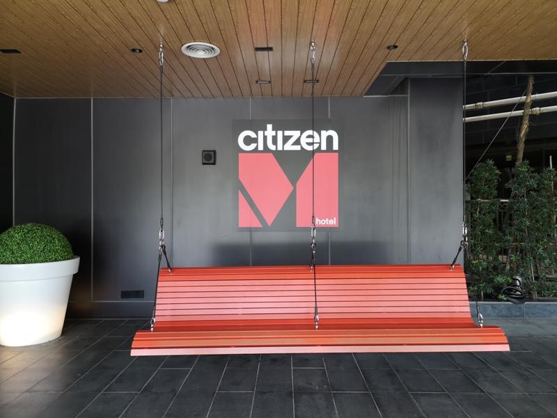 citizenMtaipei03 中正-台北北門CitizenM酒店 時尚摩登多彩又純白